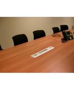 Connectique pour salle de réunion