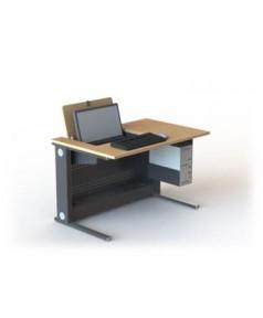 Table de formation écran 22'' pivotant escamotable L1200 – P800 – H760 mm