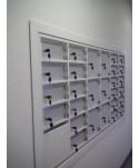 Mur boites à lettres